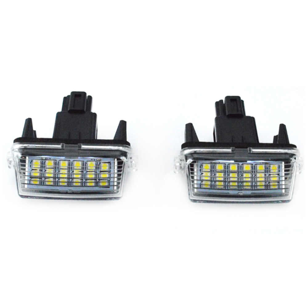 Nieuwe 2 Pcs 18-SMD LED Xenon Kentekenverlichting Auto-styling Voor Toyota CAMRY 2012-2015