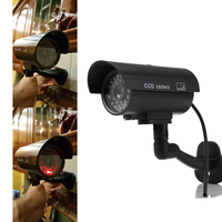 Waterproof Security Dummy Fake Camera Outdoor Indoor Deter Theft Cameras CCTV Camera Toy CAM With Flash
