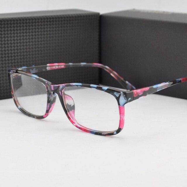 54be2a565 Moda Vidros Ópticos Quadro Quadrado Retro Mulheres Óculos de Lente Clara Óculos  Óculos de Leitura Óculos