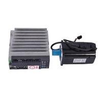 New Arrival 750 W AC Servo Motor Drive Kit 0.75KW Servo Driver ASD B2 0721 B + Motor ECMA C20807RS 80mm 3000 rpm 2.4NM 220v Hot