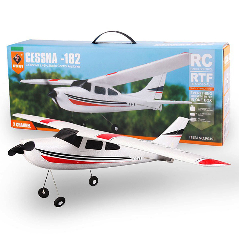 F949-3CH-RC Airplane-Aircraft Quadcopter-RC Toys-E