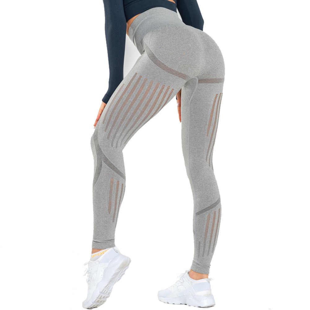 8a2bde7288e904 Yoga Pants Gym Shark Leggings Sport Women Fitness Energy Seamless High  Waist Running Tights Push Up