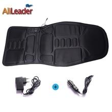 цена Electric Massager Massage Car Seat Vibrator Body Back Neck Electric Cushion Heat Pad for Legs Waist Relax 3D Deep Kneading онлайн в 2017 году