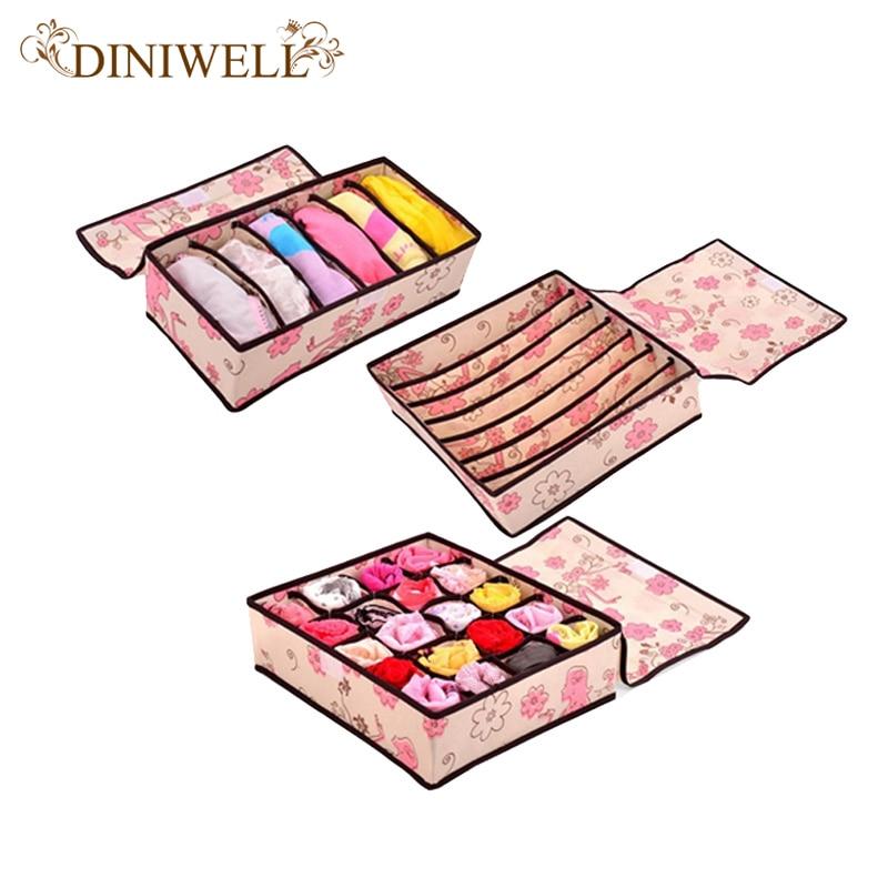 Diniwell storage underwear organizer closet drawer divider - Organizadores de ropa ...