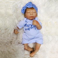 18inch silicone reborn baby dolls sleeping boy babies real doll for girls play house toys gift bebe s reborn menino bonecas bri