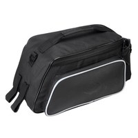 Good Deal Roswheel Cycling Bicycle Bike Rear Rack Seat Bag Leather Pouch Outdoor Traveling 10L