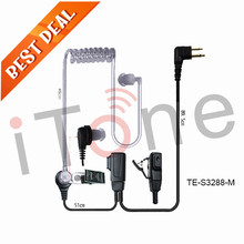 Headset for Two Way Radio Earpiece for FD-160A PX-999 FD-450A FD-460A Ham Radio Earphone Microphone Headset for Two Way Radios