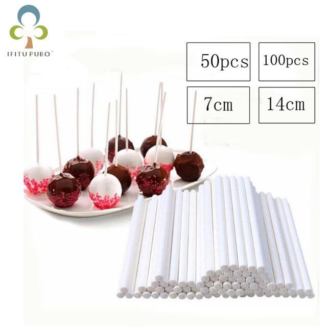 4 Entscheidungen Festen Kern Papier Lollipop Sticks Stick Am Stiel