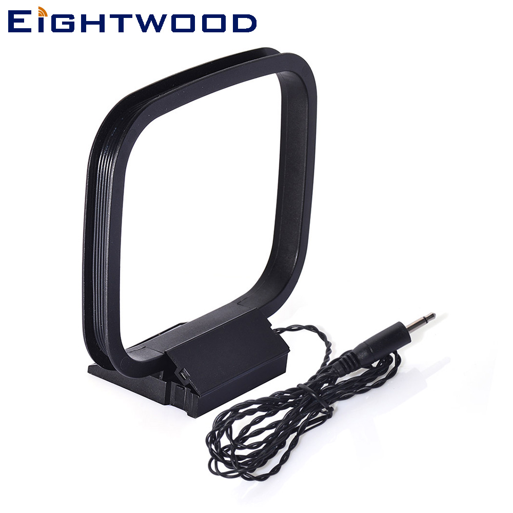 Eightwood 3.5mm Connector AM Loop Antenna 2 pole Replacement For Bose Lifestyle Music or Media Center Models 18/20/25/30/28/35