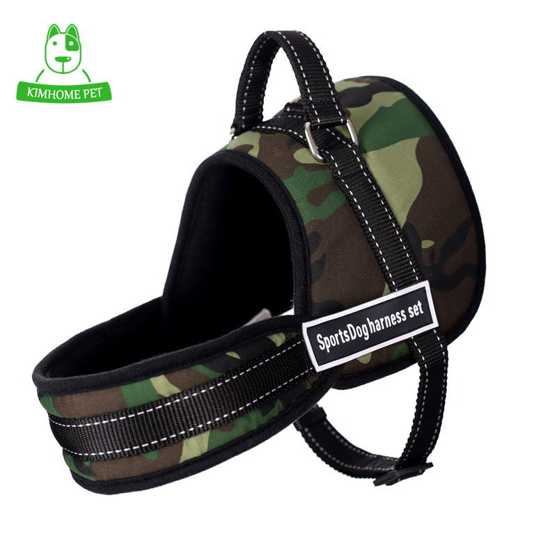 7 Colors Sport Large Dog Collar Chest Straps Traction