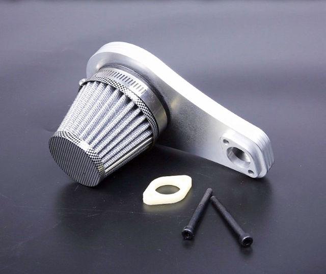 Filtre à Air en métal pont moyen Joint Air massif pour 1/5 échelle Rovan LT Losi 5ive-T LOSI DBXL DDT 5 T RC voiture pièces améliorées