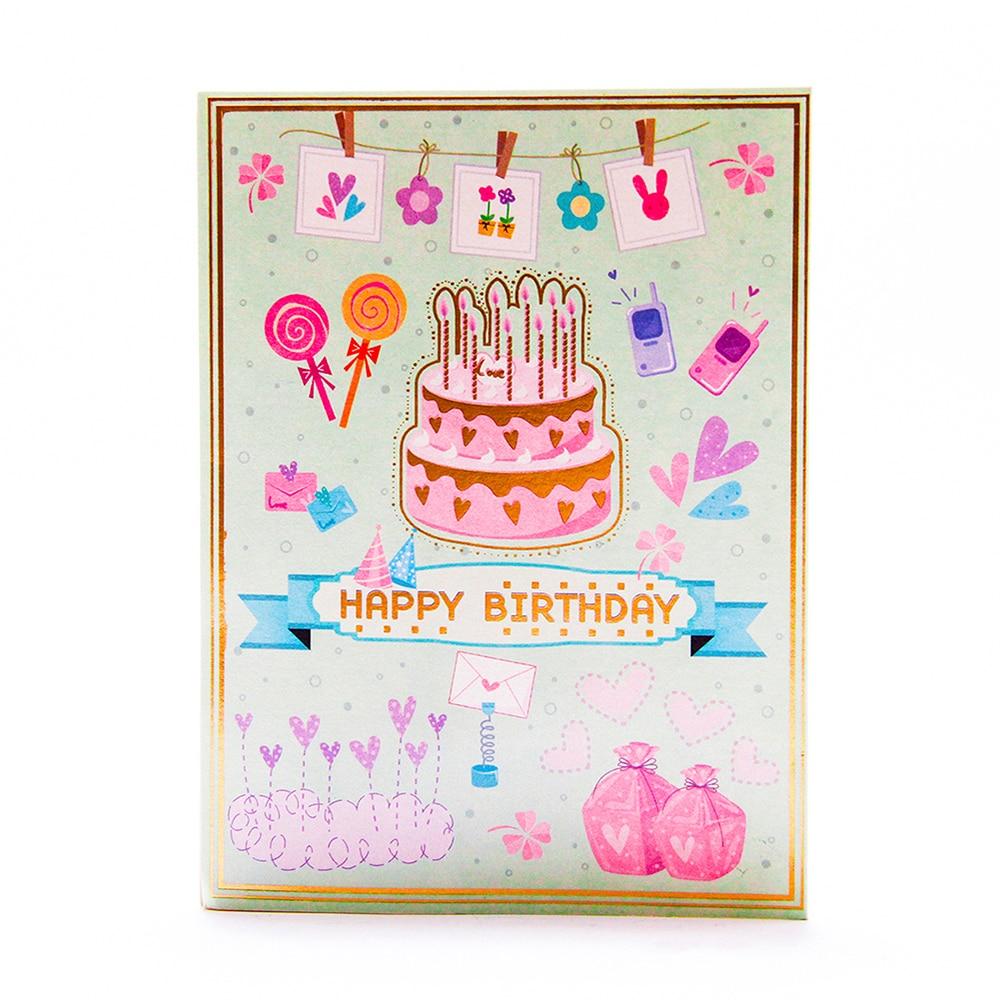 Sensational 3D Pop Up Birthday Cake Greeting Card Party Cake Card Laser Cofbay Personalised Birthday Cards Petedlily Jamesorg