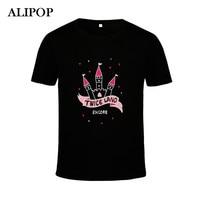 ALIPOP KPOP Korean Fashion TWICE TWICELAND THE OPENING Album Concert Cotton Tshirt K POP T Shirts