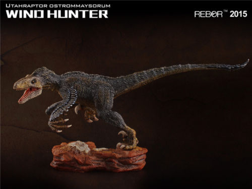 Oyuncaklar ve Hobi Ürünleri'ten Aksiyon ve Oyuncak Figürleri'de REBOR Utahraptor Ostrommaysorum KANAT AVCı PVC 1/35 Dinozor Müzesi Sınıf Modeli'da  Grup 1