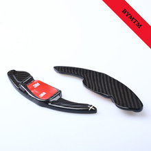 Фотография Lengthen Style Carbon fiber Steering wheel shift paddle Fit For Golf6