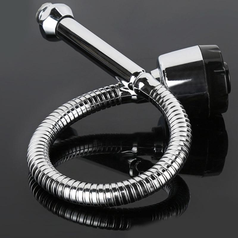 360 Degree Rotation Stainless Steel Sink Faucet Spout Kitchen Sink Faucet Pipe Fittings Single Handle Connection