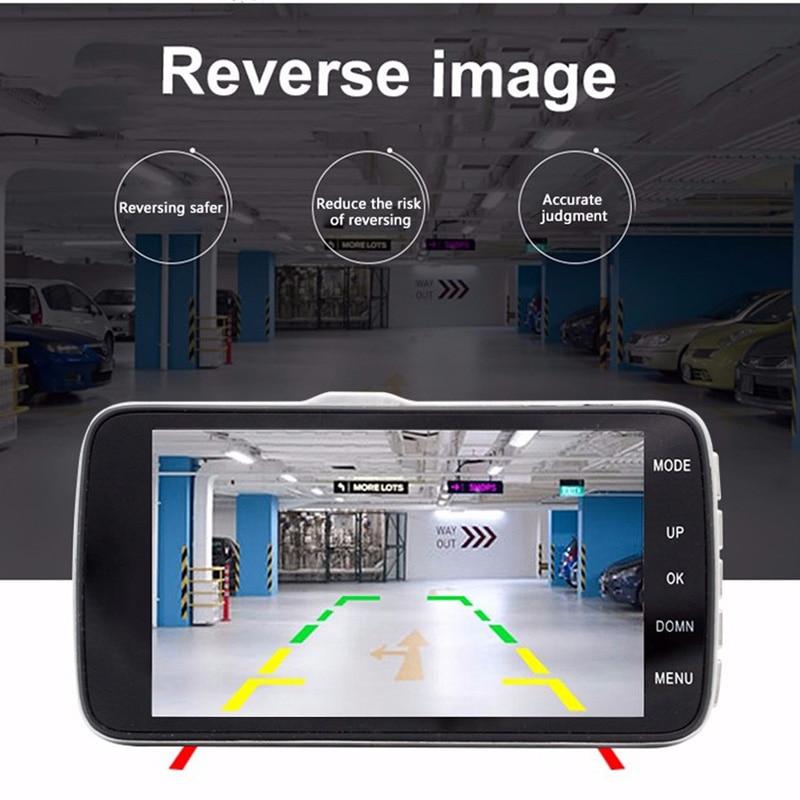 E-ACE Auto DVR Camera Dashcam Dual Lens Met LDWS ADAS - Auto-elektronica - Foto 4