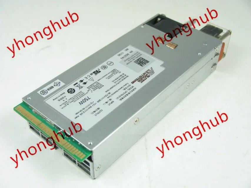 Emacro PowerEdge R620 PSU PowerEdge R510 R620 CPS750-D121 6GTF5 008159 750 W di Alimentazione del Server di Alimentazione