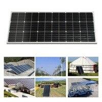 New 100W Monocrystalline Practical Solar Power System Module Solar Panel 12V Battery Charging For Off Grid RV Boat Car battery