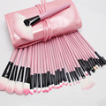 Makeup Brushes 12/32 Pcs Professional Pink Cosmetics make up brush Set Eyebrow Brush Kabuki Kit Tools Makeup Brushes maquiagem