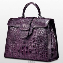 cestbuau highlights Real crocodile handbag The European and American fashion style Single shoulder bag