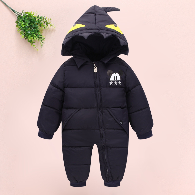 New Year A Lively Girl Dressed In Cotton-padded Clothes Happy To Play In Park Children Warm Girls Winter Coat Mickey lole капри lsw1349 lively capris xs blue corn