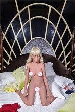 155 centimetri # Aurora TPE con lo scheletro In Metallo bambole del sesso reale masturbatore vajina amore bambole di sesso maschile bambole del sesso per le donne realistico della vagina
