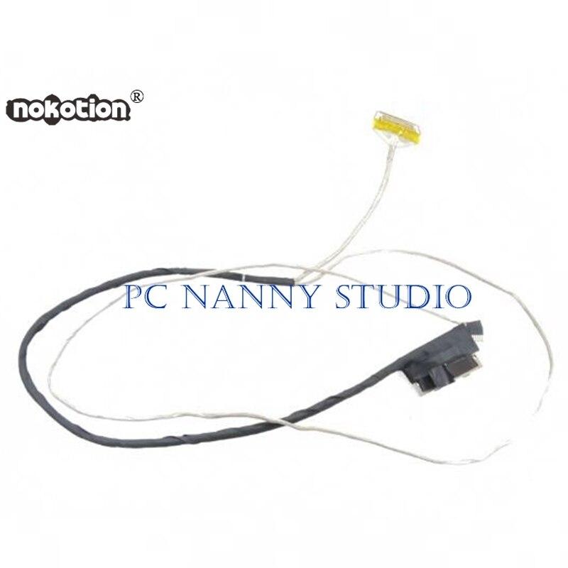 Оригинальная модель NOKOTION для Dell Latitude 3550 ленточный кабель для ЖК-дисплея 804G8 0804G8 DC02001XW00, протестирована, быстрая доставка