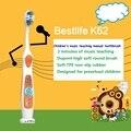 La sirenita de los niños cepillo de dientes cepillo de dientes infantil música de piel regalos para niños (Color al azar)