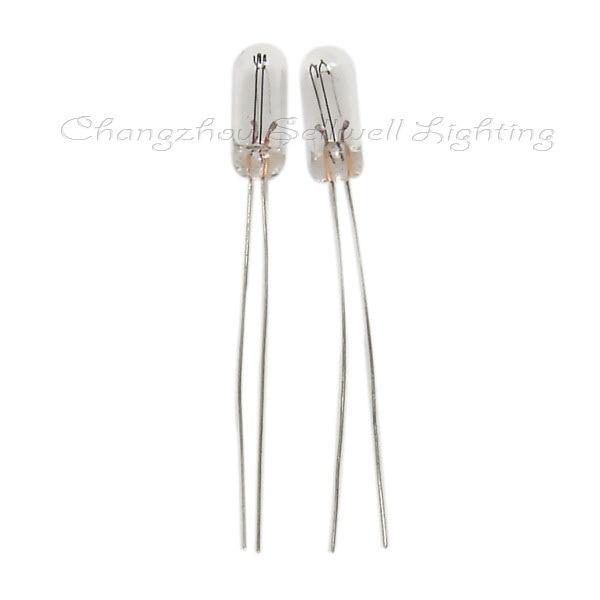 Match Far Electric Light Source Miniature Bulb Meter Lamp 1.2W 4x10 A308 12V High Quality