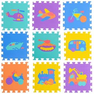 Baby EVA Foam Puzzle Play Mat /Transport kids Education Carpet and Rug Interlocking Exercise Floor Tiles,Each:30cmX30cm(no edge)