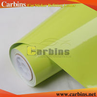 Carbins Super Glossy Vinyl Wrap Films For Car Motorbike Trunk Boat Wrapping With Protection Film Free