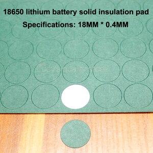 Image 2 - 100 шт./лот 18650 литиевая батарея, отрицательная твердая изоляционная прокладка 1S, Молодежные бумажные сетчатые прокладки, детали для батарей в сборе, сделай сам