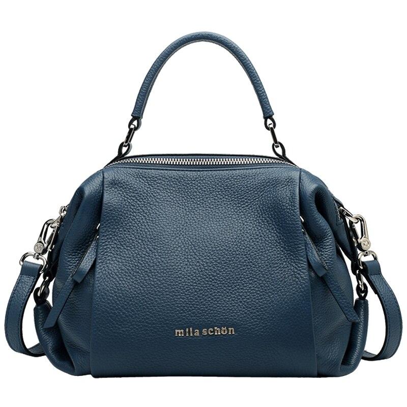 2018 Nuovo di Alta Qualità sacchetti di spalla della donna borse di pelle designer sacchetto di cuoio genuino borse mujer de marca famosa 2018 # BC-106