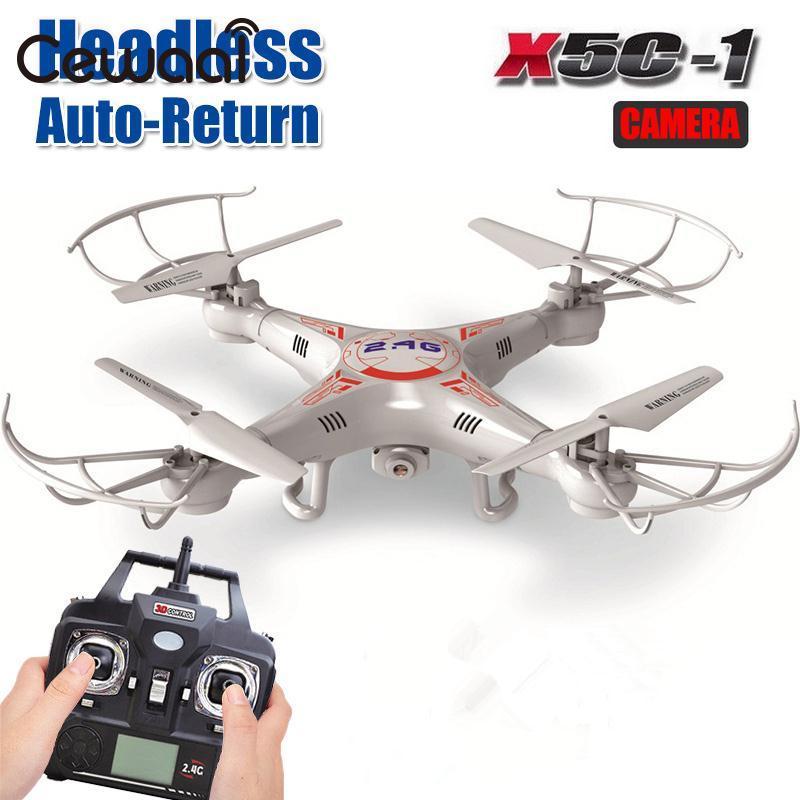 Phoota 2G X5C-1 2.4 Ghz 4CH 6 Eixos Giroscópio RC Quadcopter Drone UAV Helicópteros UFO Câmera de 8 Minutos Remoto controle
