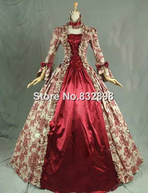 Online Shop Top Sale Georgian Victorian Dress Victorian Gothic ...