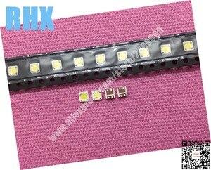 Image 1 - 260 unid/lote 100% nuevo para reparación de retroiluminación de LED de lúmenes 2,4 W 3V 3535 3537 blanco retroiluminación LCD blanco frío