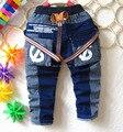 2014 новых осенью пункт мальчик полоса джинсы брюки джинсовые брюки 1 - 4 лет два цвета очень здорово