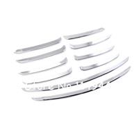 For Mazda 6 M6 Atenza 2017 Car Styling Accessories Exterior ABS Matte Front Grill Grille Cover