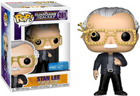 Exclusive FUNKO POP Official Guardians of the Galaxy Stan Lee #281 Vinyl Action Figure Collectible Model Toy with Original Box