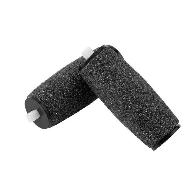 2 piezas reemplazos rodillo Pro pedicura Pie de cuidado para los pies pie electrónica archivo rodillos removedor de piel accesorios nuevo