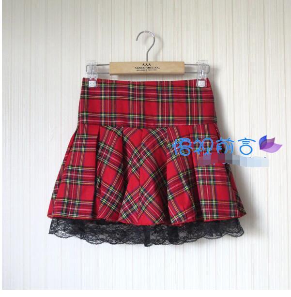 Popular Cute Plaid Skirts-Buy Cheap Cute Plaid Skirts lots from ...