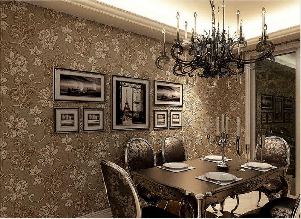 ФОТО Non-woven wallpaper European-style garden stereoscopic 3D living room bedroom wallpaper background wallpaper