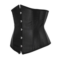 Sishot 2018 Corset For Women Hollow Out Bustiers Lace Up Sexy Corsets Gothic Style Underbust Corset