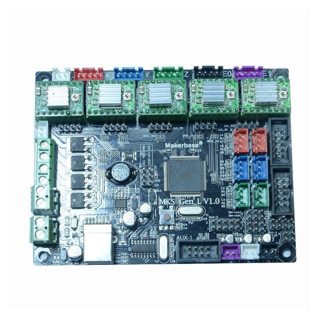 TEVO Tarantula /& Tornado Motherboard 3D Printer Part MKS GEN/_L V1.0 A4988 Driver