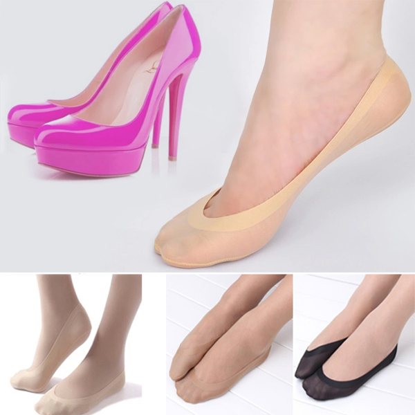 1 Pair Women Girl Lace Antiskid Invisible Short Ankle Boat Low Cut Ice Socks for Summer women socks happy socks short socks