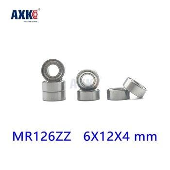 Axk Бесплатная доставка 10 шт. Mr126zz Abec-5 6x12x4 мм Глубокие шаровые подшипники Mr126/L1260 Zz