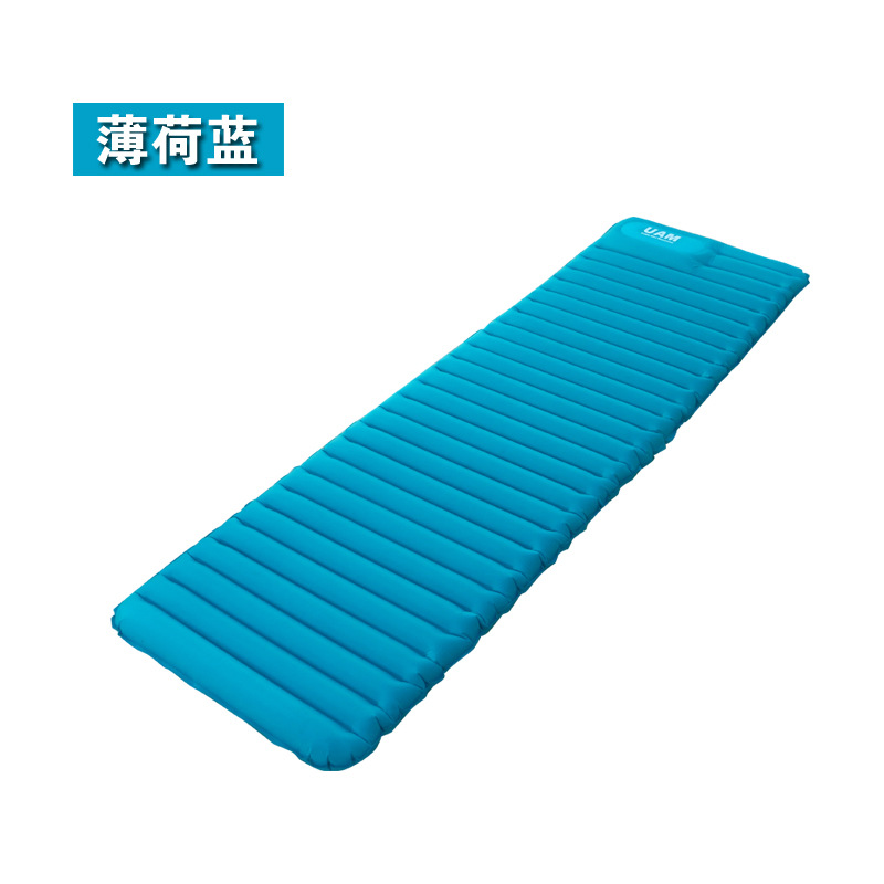 Ultralight Outdoor Air Mattress Moistureproof Inflatable Mat Cushion With TPU Camping Bed Tent Camping Sleeping Pad 2pcs set air bed inflatable couch mattress sleeping mats airbed outdoor camping with pump camping mat for camping
