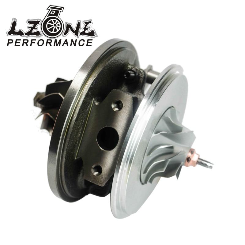 LZONE RACING - GT1749V 713673 Turbo cartridge CHRA for AUDI VW Seat Skoda Ford 1.9 TDI 115HP 110HP JR-TBC15 turbo chra gt1749v 713673 454232 for ford audi seat skoda vw 1 9 tdi engine auy ajm asv atd afn avg alh axr bsw bew