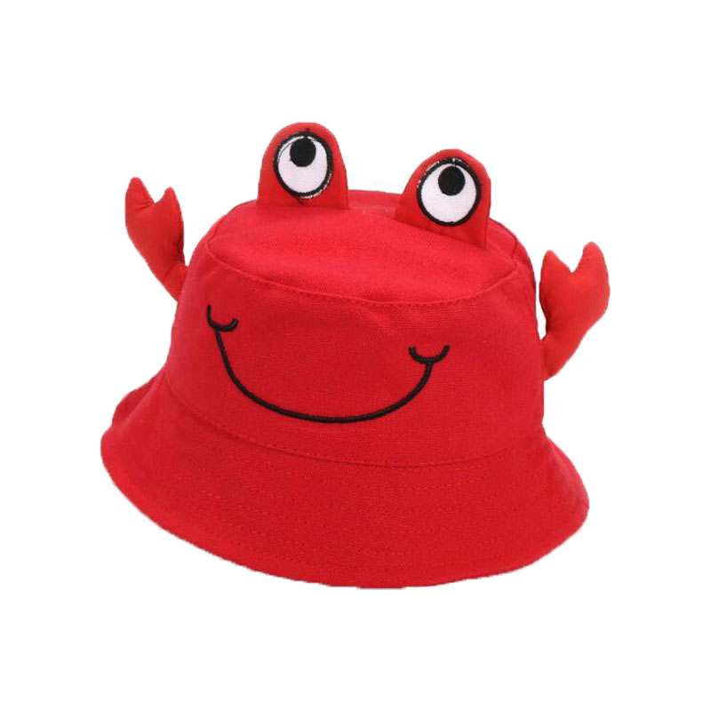 9c88d5b21d0 Child Bucket Hat Unisex Cartoon Cotton Fisherman Cap Solid Outdoor Beach Hat  Boy Girl Kids Child Cap Bucket Hat Candy Color